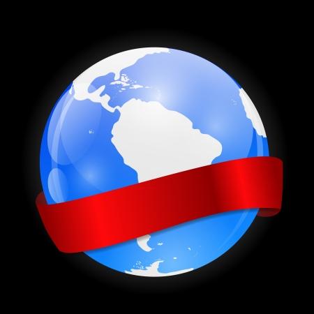 Globe Icon Illustration Vector