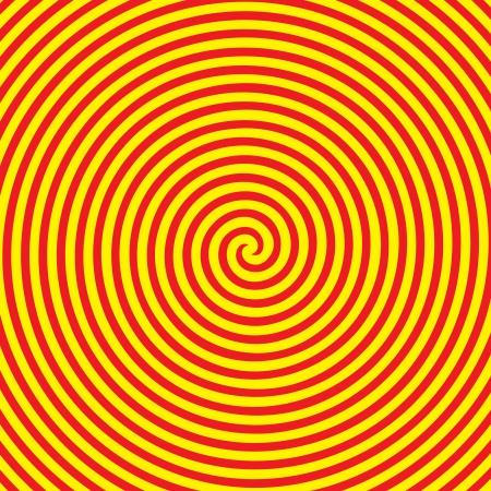 Retro vintage grunge hypnotic background Stock Vector - 25081164