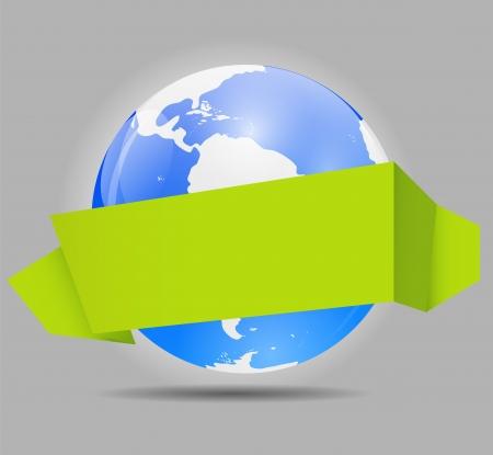 Global Shopping Concept illustration Vector