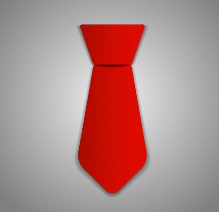 Ilustración corbata