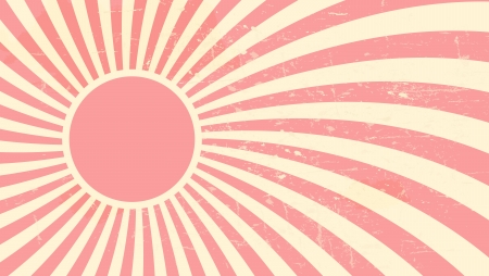 Strawberry, cream abstract hypnotic background illustration Vector