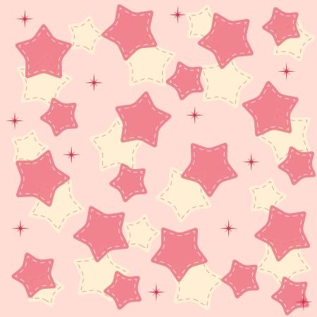 wintriness: Pinr stars background illustration