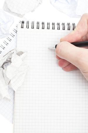 carta e penna: Blocco note, carta, penna