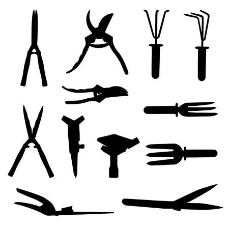 Garden Tools Set. Vector Illustration. Vector