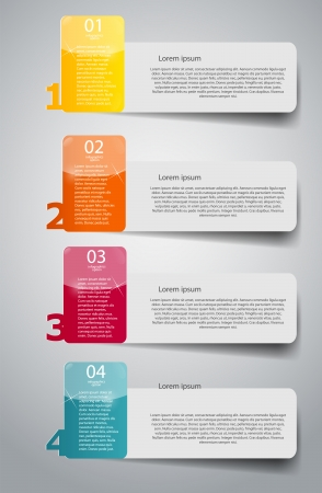 business template: Infographic business template vector illustration