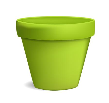 empty flowerpot vector illustration Illustration