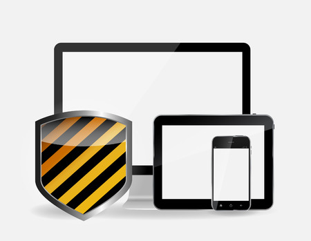 Internet Security Icon Vector Illustration Vector
