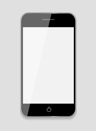 pile of newspapers: Abstract Design Mobile Phone. Vector Illustration