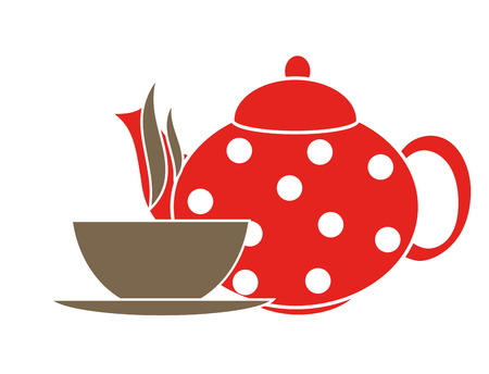 Tea Icons Vector Illustration Vector