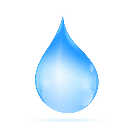 Water Drop  Vector Illustration Vector