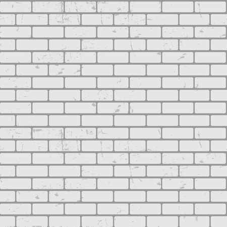 れんが造りの壁テクスチャのシームレスなパターン ベクトル イラストの背景