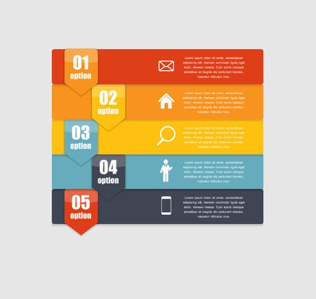 Infographic Templates for Business Vector Illustration. EPS10 Vector