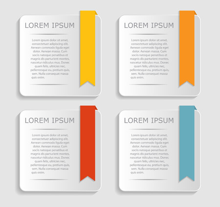 web elements: Infographic Templates for Business Vector Illustration   Illustration