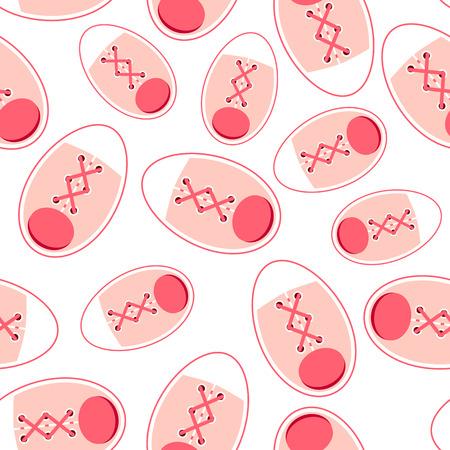 Gumshoes Seamless Pattern Backround Vector Illustration. EPS10