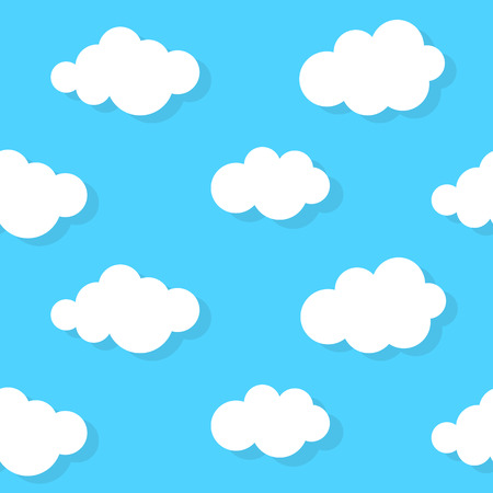 Abstract Cloud Background Vector Illustration Vector