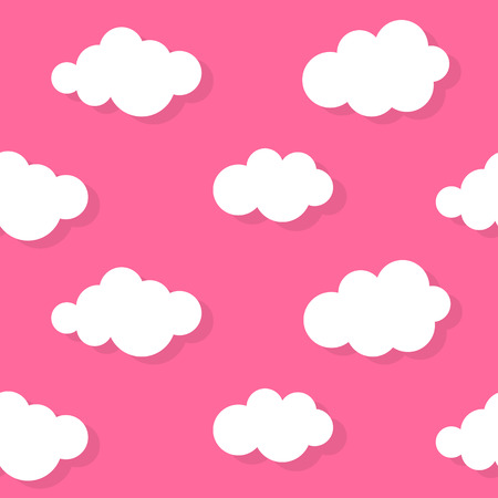 Abstract Cloud Background Illustration Vector