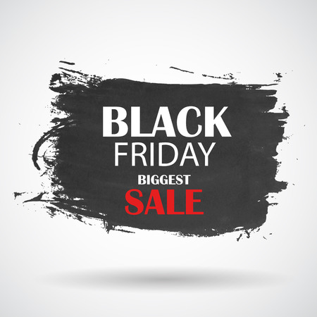 Black Friday Sale Icon Vector Illustration Vector