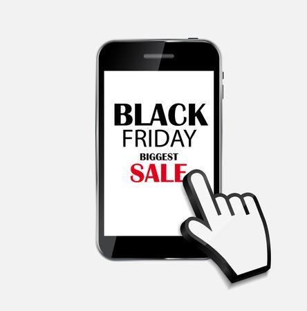 Black Friday Sale Icon Vector Illustration. EPS10 Vector