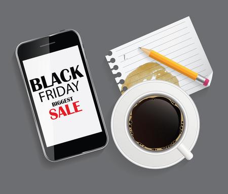 ean: Black Friday Sale Icon Vector Illustration Illustration