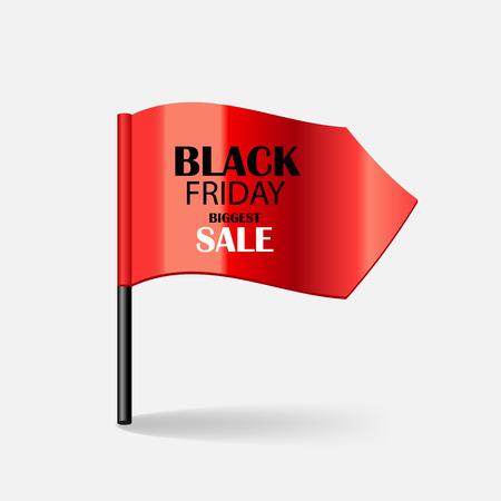Black Friday Sale Icon Vector Illustration Vector