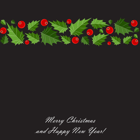 illust: Abstract Beauty Christmas and New Year Background. Vector Illust