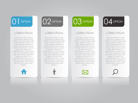 Infographic Templates for Business  Stock Illustratie