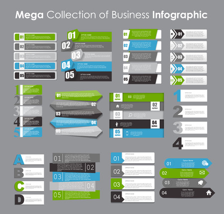 arrow sign: Infographic Templates for Business Vector Illustration. EPS10