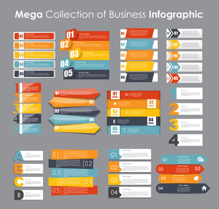 business presentation: Infographic Templates for Business Vector Illustration. EPS10