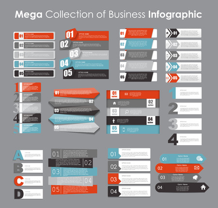graphics: Infographic Templates for Business Vector Illustration. EPS10