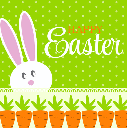Happy Easter Background Vector Illustration Vector