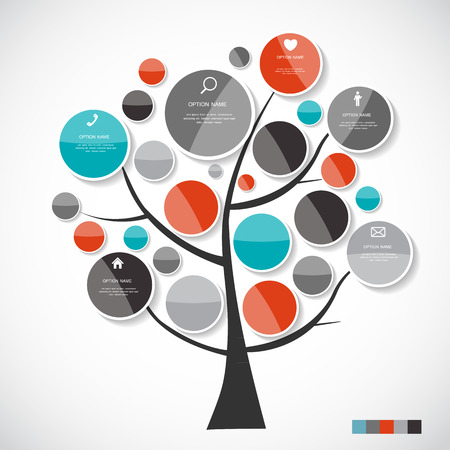 Infographic Templates for Business Vector Illustration. 일러스트