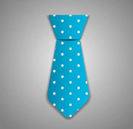 necktie: Necktie Vector Illustration