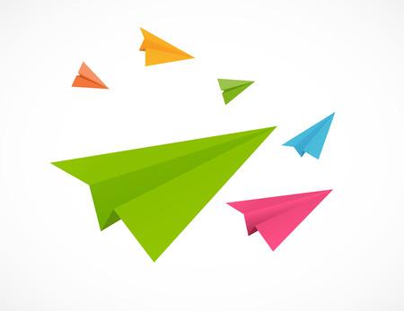 backgrund: Airplane Backgrund Vector Illustration