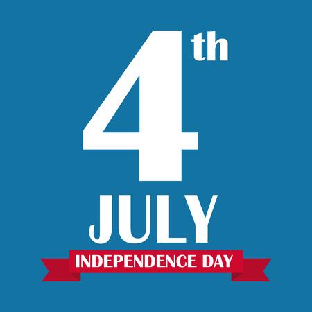 liberal: Independence Day Poster Vector Illustration Illustration