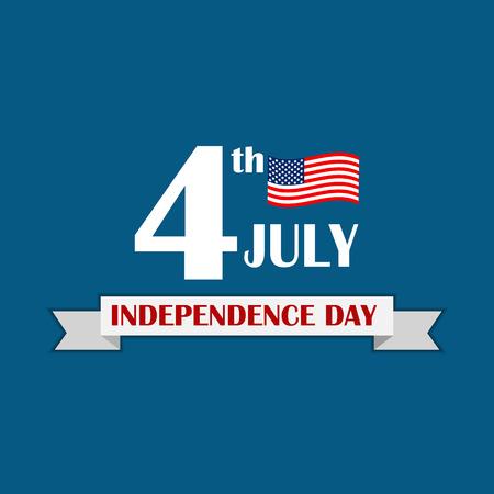 Independence Day Poster Vector Illustration Illustration