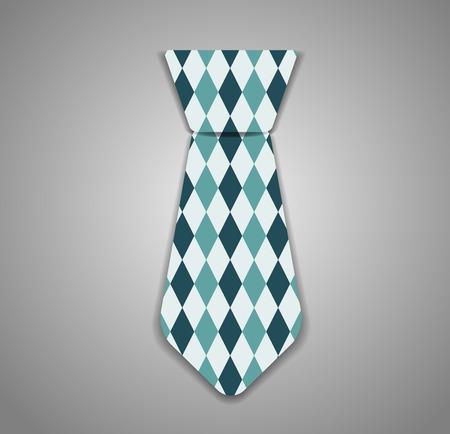 windsor: Necktie Vector Illustration