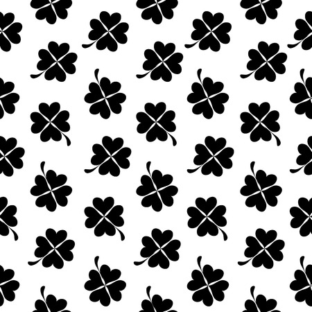 Abstract Natural Clover Seamless Pattern Background Vector Illustration EPS10 Vector