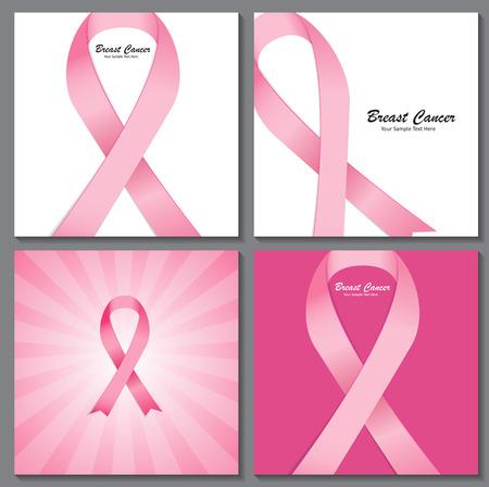 Brustkrebs-Bewusstseins-Rosa-Band-Hintergrund Standard-Bild - 42652170