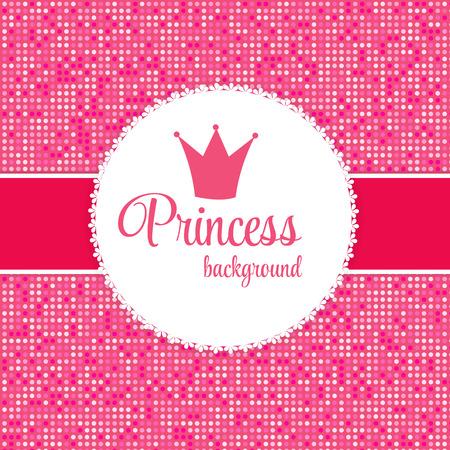 the princess: Marco rosado de la princesa Corona
