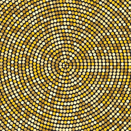 hypnotic: Retro Vintage Hypnotic Background Illustration
