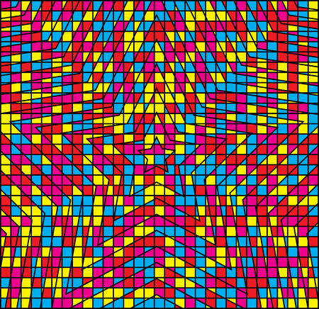 hypnotic: Abstract Multicolor Hypnotic Background.