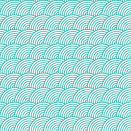 fish scale: Seamless Fish Scale Pattern
