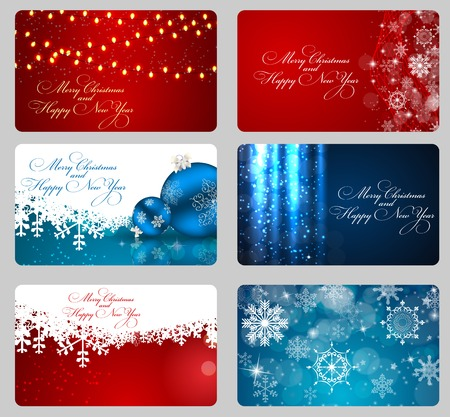 christmas backgrounds: Abstract beauty Christmas and New Year backgrounds