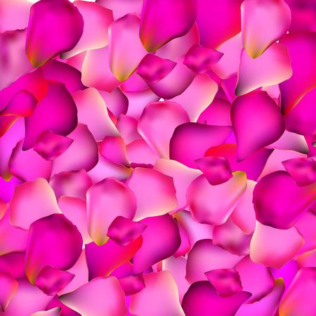 petals: Rose Petals Background Vector Illustration   Illustration