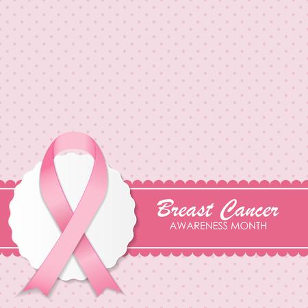 cancer woman: Breast Cancer Awareness Pink Ribbon Vector Illustration EPS10