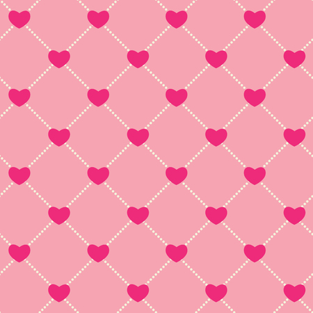 romantic: Romantic Seamless Pattern Background Vector Illustration EPS10