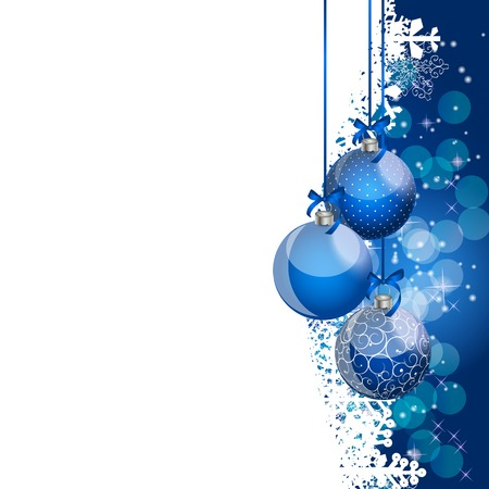 lighting technique: Abstract beauty Christmas and New Year background.