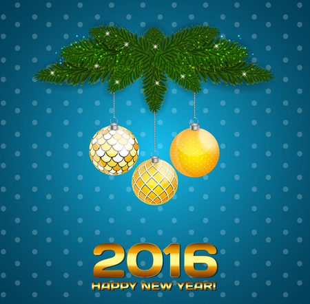 lighting technique: Abstract Beauty Christmas and New Year Background. Vector Illustration EPS10 Illustration