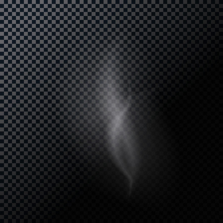 naturalistic: Naturalistic Smoke Isolated on Dark Background.
