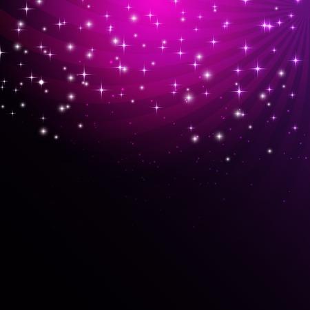 nigth: Star Shiny Sky Vector Illustration Background EPS10 Illustration